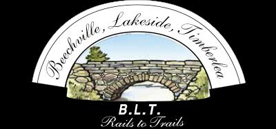B.L.T. Rails to Trails Logo